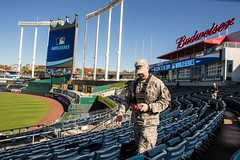 Missouri National Guard (The National Guard) Tags: world game sports field soldier army us team athletics support force unitedstates baseball stadium military air guard radiation safety mo kansascity civil national missouri nationalguard soldiers series ng kc airforce survey guardsmen wmd troops usairforce worldseries usarmy cst mlb mong sanfranciscogiants kansascityroyals kauffmanstadium 2014 guardsman airman airmen majorleaguebaseball missourinationalguard 7thcst 7thweaponsofmassdestructioncivilsupportteam firstlieutenantbradwieberg radiationsurvey