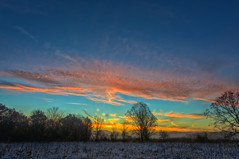 FrostySunrise (jmishefske) Tags: park morning sky nature beautiful wisconsin clouds sunrise franklin nikon october frost freezing center milwaukee colored wehr 2014 whitnall halescorners d7100