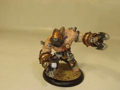 Cephalyx - Warden (Baefull.Wolf.Painting) Tags: monstrosity heavy warmachine mercenary warjack cephalyx