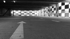 Darmstadt - TU Lichtwiese (bilderflut photography) Tags: blackandwhite architecture germany campus deutschland university hessen alemania universität tu tyskland allemagne darmstadt germania alemanha duitsland parkhaus tudarmstadt lichtwiese almanya niemcy nemecko