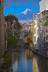 Utrecht Canal Scenery (Ivan Naurholm. thanks, for more than 500.000 views) Tags: holland canal nice rotterdam colorful utrecht netherland hdr cloudscape