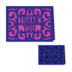 thank-you-A2 (emily dyer) Tags: silhouette card folded greetingcard svg papercut diecut foldedcard