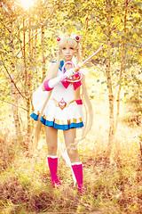Pretty Guardian Sailor Moon (Annie Fischinger Fotografie) Tags: moon anime cute sexy rot japan japanese costume pretty geek cosplay manga culture kawaii sailor otaku guardian senshi cosbabe
