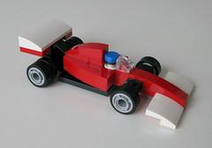 Ferrari (LegoWyrm) Tags: lego ferrari formula1 microscale