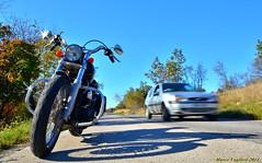 Moto 02-11-2014 (22) (Vaglieri Marco) Tags: street longexposure sky car strada sigma cielo harleydavidson motorcycle macchina dyna motocicletta fxdbi