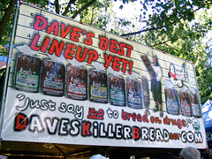 "Dave's Killer Bread booth • <a style=""font-size:0.8em;"" href=""http://www.flickr.com/photos/34843984@N07/15521552016/"" target=""_blank"">View on Flickr</a>"