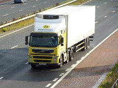 YK12 GFV (Cammies Transport Photography) Tags: truck volvo lorry fm carlisle m6 supermarkets morrisons flyover yk12gfv