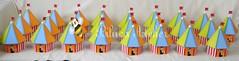 COFRE TENDA DE CIRCO (BILUCA ATELIER) Tags: de circo country centro infantil festa mesa pintura tenda palhaço mdf cofre lembrancinha biluca