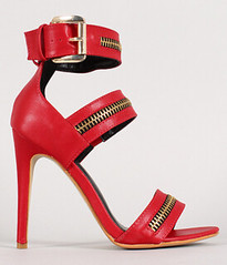 "zipper strappy open toe heel red • <a style=""font-size:0.8em;"" href=""http://www.flickr.com/photos/64360322@N06/15535313366/"" target=""_blank"">View on Flickr</a>"