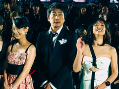26th Tokyo International Film Festival: Omori Nao, Miwa Hitomi & Miho Jun from Disregarded People