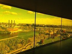 Guthrie Theater - October 14th, 2014 (erintheredmc) Tags: park city bridge fall mill colors leaves minnesota museum river mississippi gold october theater downtown view floor jean erin district 4th minneapolis medal flour 9th guthrie mccormack endless nouvel 2014