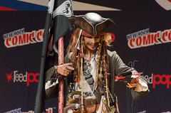 Jack Sparrow Cosplay (Pirates of the Carribean) (vince.ng86) Tags: jack cosplay pirates carribean disney sparrow comiccon nycc nycc2014