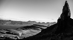 Isle of Skye - The old man of Storr (Julien Ducenne) Tags: camera blackandwhite bw sun sunlight black art nature contrast wow landscape scotland photo julien search interesting rocks flickr view image sony tag picture atmosphere best 55mm fullframe pixels oldmanofstorr storr 20fav a7r pinterest sonya7r ilce7r sonnartfe1855 ducenne ducennejul julienducenne fe55mm18