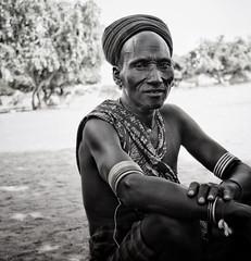 Arbore Tribe, Ethiopia (MeriMena) Tags: africa travel bw faces tribes ethiopia arbore portrates erbore canon450d merimena