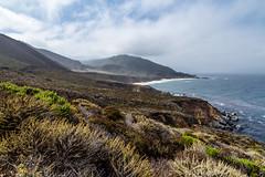 California Pacific Coast - 58 (www.bazpics.com) Tags: ocean california ca sea summer cliff beach water one 1 coast big sand highway waves unitedstates pacific coastal carmel sur barryoneilphotography