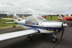 G-CCVA (IndiaEcho) Tags: england canon eos fly airport eurostar britain aircraft aviation air north aeroplane essex airfield in weald ev97 egsx 1000d gccva