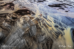 River Patterns in the Sand