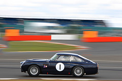 . (Hipwell Photography) Tags: motion db4 gt panning astonmartin 2014 silverstoneclassic