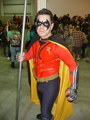 P1120709 (Randsom) Tags: nyc newyorkcity newyork robin costume cosplay convention superhero batman comicbooks dccomics teentitans javits 2014 boywonder nycc newyorkcomiccon batmanfamily october2014 nycc2014 newyorkcomiccon2014