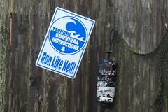 Tsunami instructions,Oregon 18Oct14 (Pervez 183A) Tags: oregon tsunami instructions