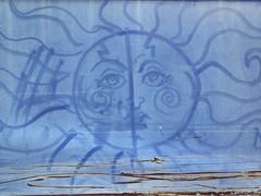 art i found on carts. october 2014 (timp37) Tags: sun art found october drawing carts 2014