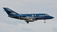 Dassault Falcon 20.  G-FRAU. (Wally Llama) Tags: tamron panning lossiemouth raflossiemouth panningshot dassaultfalcon20 canon1dmkiii jointwarrior gfrau tamronsp150600mm