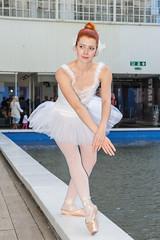 Emilie - 5 (Alastair 2008) Tags: ballet female dance model birmingham redhead tutu custardfactory urbanballet fotofilia