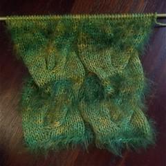 "gedifra ""distrato"" yarn swatch (myromanapartment) Tags: halloween knitting handmade yarn fantasy horror fug cthulu callofcthulu cowl gedifra"