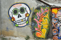 Mural Day of the Dead Mexico (Ilhuicamina) Tags: streetart art skulls paintings murals mexican diadelosmuertos walls calaveras daysofthedead
