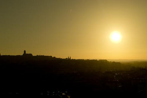 Sunlight on Rodez