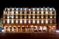 (Matthieu Douhaire) Tags: travel paris france night canon nightshot louvre 7d hdr parisbynight canon2470f28 photodenuit louvredesantiquaires canon7d