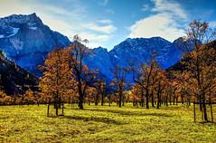 tirol österreich paisaje alpen paesaggi paysages hdr tyrol eng karwendel biotope photomatix ahornboden naturdenkmal karwendelgebirge hinterriss groserahornboden sonyslta55v heribertpohl alpenlandschaften polybert