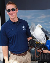 USAF Academy Falconry, 2012 Air Force Week at Intrepid Museum, New York City (jag9889) Tags: nyc newyorkcity usa ny newyork bird museum airplane ship unitedstates manhattan clinton aircraft military unitedstatesofamerica vessel intrepid hudsonriver airforce naval usaf warship hellskitchen 2012 usairforce intrepidmuseum ussintrepid pier86 intrepidseaairandspacemuseum jag9889 y2012 20120821
