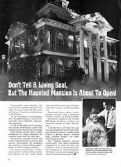 Haunted Mansion ad, 1969 (Tom Simpson) Tags: 1969 vintage advertising disneyland ghost ad disney haunted advertisement 1960s hauntedmansion vintageadvertising vintagead vintageadvertisement vintagedisneyland vintagedisney hatboxghost