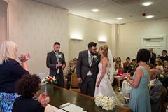 Niamh & Jonathan's Wedding (tw332) Tags: wedding groom bride claire jonathan cam bridesmaid bestman niamh firstkiss
