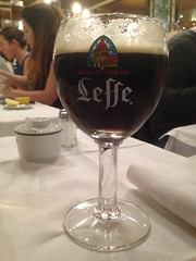 Always room for a glass of Leffe!