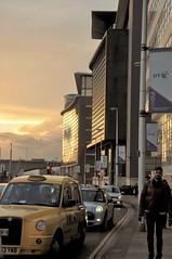 homeward bound (58/365) (werewegian) Tags: glasgow heading home daily life street werewegian 5pm feb17 365the2017edition 3652017 day58365 27feb17 sunset