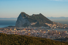 The Rock (Oliver J Davis Photography (ollygringo)) Tags: gibraltar rock limestone the promontory british uk overseas territory europe spain lalinea international border morocco africa strait mediterranean atlantic sea ocean hercules pillar rif mountains ridge hill city cityscape sunborn community neighbours sunny clear sky weather warm holiday travel brexit trade business world global shipping nikon d90