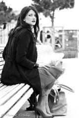 0K3P2087BkCs (flotographe13) Tags: frenchwoman woman femme portraitdefemme noirblanc noiretblanc bw blackwhite blackandwhite nb portraiture