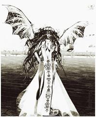 Silver_Myra_TerraMerhyem_2017 (TerraMerhyem) Tags: art artistique femme woman belle beauté beauty sexy silver argent girl metal terramerhyem merhyem ange angel démon devil ailée