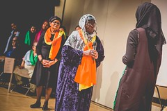 Decorum Performance at Mulberry School for Girls (c) Roxene Anderson Photography for Magic Me (Magic Me Arts) Tags: intergenerational magicmearts performance decorum wowldn eastlondon towerhamlets