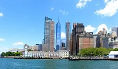 Manhattan skyline (I Nair) Tags: manhattanskyline oneworldtradecentre skyscrapers