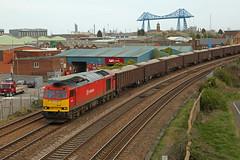 60001 Middlesbrough (DieselDude321) Tags: 60001 class 60 db dbs cargo 6d15 1426 redcar bsc ore terminal scunthorpe trent tc metz bridge middlesbrough schenker