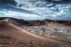 La vallée de la Luna (louloumoreauphotographies) Tags: désert chili san pedro de atacama sunset sable vallée lune