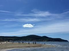 Il bacio della nuvola (scatti_sc Silvia) Tags: puntone focedelpecora toscana maremma beach spiaggia mare cloud sky cielo nuvola bacio