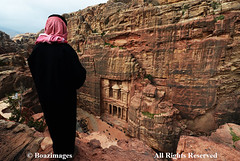 JORDAN (BoazImages) Tags: petra jordan bedouin arab arabia thetreasury above boazimages travel الخزنة‎‎ alkhazneh culture heritage