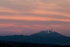 Fujisan (tenugui) Tags: fuji fujisan japan sunset yamanashi 夕焼け 山梨県 谷戸城