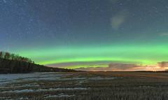 Arcy McArcface (Len Langevin) Tags: auroraborealis northernlights longexposure night sky stars landscape nature alberta canada nikon d300s tokina 1116