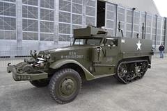 White M3A1 Half Track personal Carrier (ROCKINRODDY93) Tags: american usa worldwar2 ww2 war carrier personal m3a1