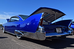 Fin Land (oybay©) Tags: goodguysscottsdale goodguys scottsdale plymouthfury plymouth fury virgil exner midcentury space age design chrome bullet taillights spring 2017 antique vintage classic car automobile original familyowned vehicle outdoor red show